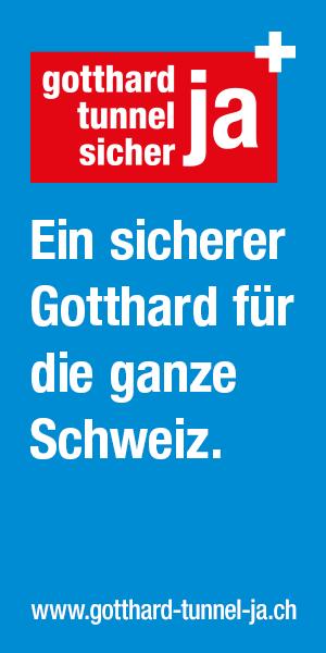 JA zum Gotthardtunnel am 28.02.2016!!!