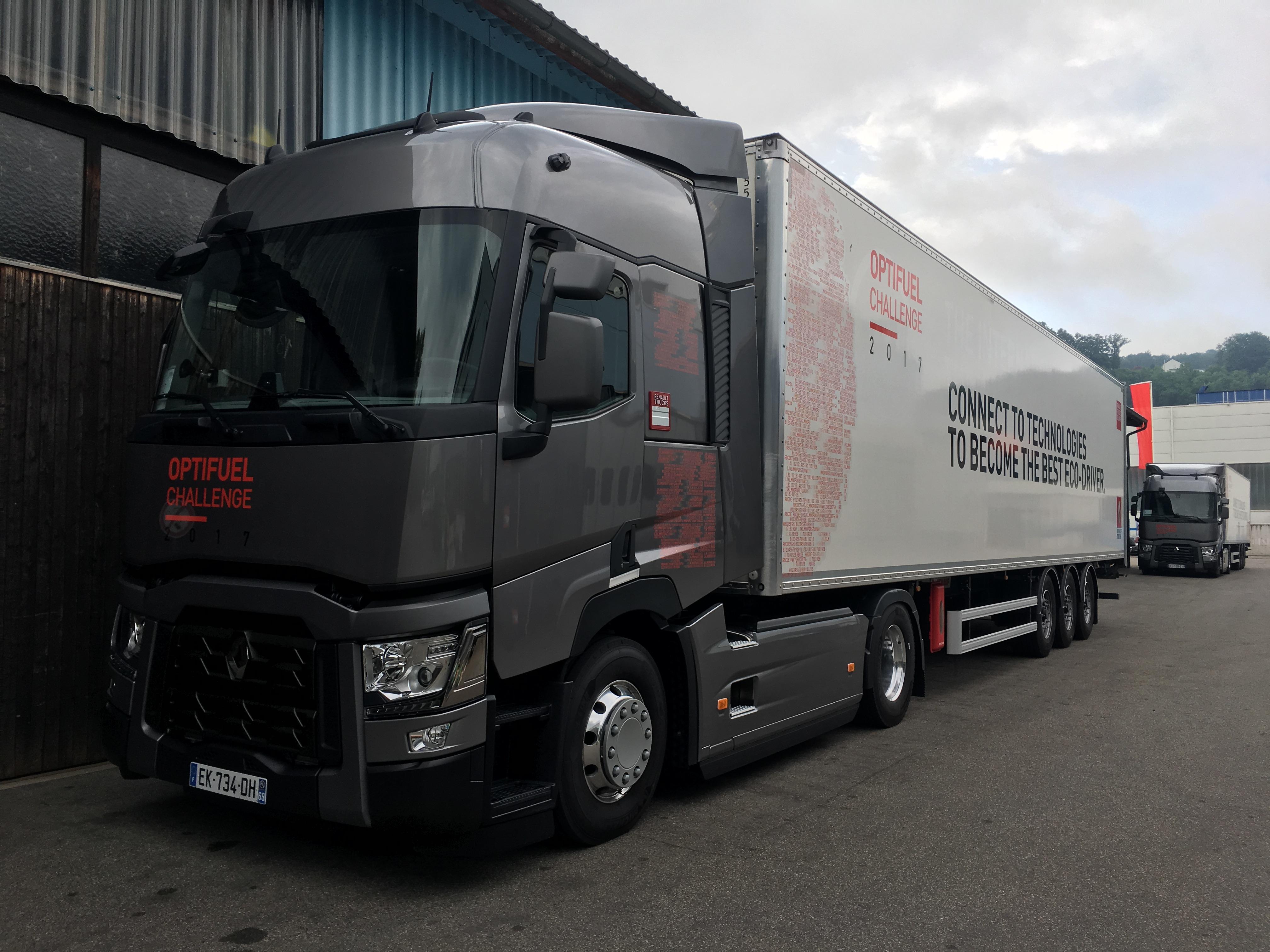 Renault Trucks Optifuel Challenge 2017